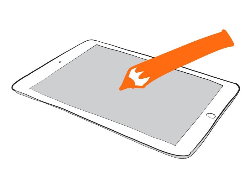 Zakelijk tekenen op je tablet